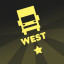 Truck insignia 'West' in Bridge Constructor