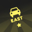 Car insignia 'East' in Bridge Constructor