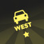 Car insignia 'West' in Bridge Constructor