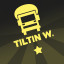 Tank Truck Insignia 'Tiltin West' in Bridge Constructor