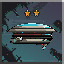 Two Star Ship in Halcyon 6: Starbase Commander