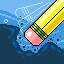 H-2-Old in Pixelscape: Oceans