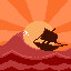 Lost At Sea in Pixelscape: Oceans