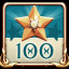 100 stars in Atlantis: Pearls of the Deep