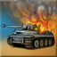 Destroy a Tiger tank in Tank Battle: North Africa