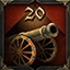Cannon master in Cossacks 3