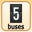 5 buses in Bus Tycoon ND Night and Day