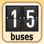 15 buses in Bus Tycoon ND Night and Day