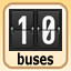 10 buses in Bus Tycoon ND Night and Day