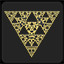 Sierpinski triangle in Security Hole