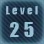 Level 25 completed!