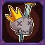 Puny Skeleton King in Dungeon Souls