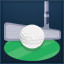 One Putt Master in Winning Putt: Golf Online