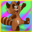 Racoon Complete! in Pixel Puzzles Junior