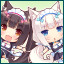 Chocolate & Vanilla in NEKOPARA Vol. 3