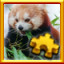 Red Panda Complete! in Pixel Puzzles Ultimate