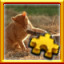 Cat Fight Complete! in Pixel Puzzles Ultimate