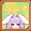MAX Ranked Finish! x 5 in Rabi-Ribi