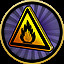 Highly flammable in Pinball FX3