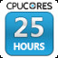 CPUCores Hours Used: 25 in CPUCores :: Maximize Your FPS