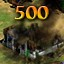 Burned in Age of Empires II HD