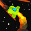 A long time ago in SPACE ASTEROID SHOOTER : RETRO ACHIEVEMENT HUNTER