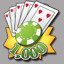 1,000 Chips in Puzzle Poker