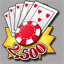 2,500 Chips in Puzzle Poker
