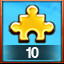 10 GOLD PIECES USED! in Pixel Puzzles Ultimate