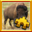 Bison Complete! in Pixel Puzzles Ultimate