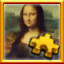 Mona Lisa Complete! in Pixel Puzzles Ultimate