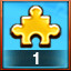 1st GOLD PIECE USED! in Pixel Puzzles Ultimate