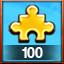 100 GOLD PIECES USED! in Pixel Puzzles Ultimate
