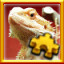 Pogona Complete! in Pixel Puzzles Ultimate