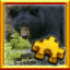 Black Bear Complete! in Pixel Puzzles Ultimate
