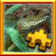 Iguana Complete! in Pixel Puzzles Ultimate