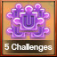 5 Challenges Complete in Pixel Puzzles Ultimate