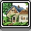 Cottage in Coloring Pixels